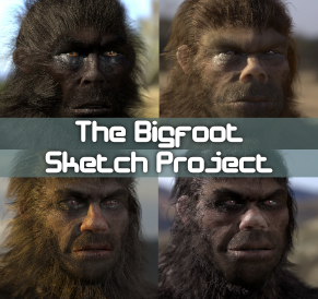 Bigfoot Sketch Project